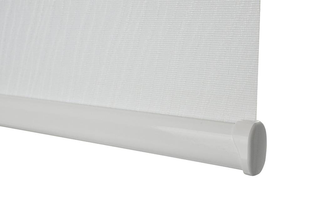Senses bottom bar in White with white endcaps