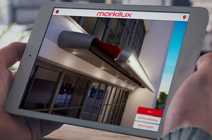The Markilux Augmented Reality App